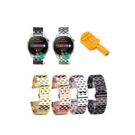 قیمت بند ساعت هوشمند هواوی واچ Huawei Watch 3 Pro استیل 5Bead
