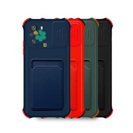 خرید قاب گوشی شیائومی Redmi Note 10 مدل کم شیلد جاکارت دار