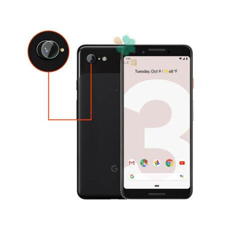 خرید پک دوتایی محافظ لنز نانو سرامیک گوشی گوگل Google Pixel 3