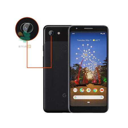 خرید پک دوتایی محافظ لنز نانو سرامیک گوشی گوگل Pixel 3a XL