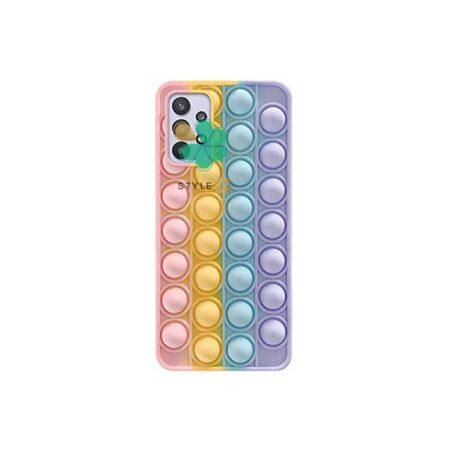 قیمت قاب ضد استرس گوشی سامسونگ Galaxy A52 مدل رنگین کمانی