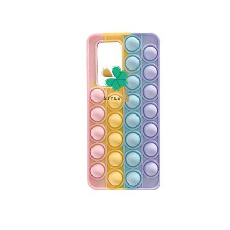 خرید قاب ضد استرس گوشی شیائومی Xiaomi Poco M3 مدل رنگین کمانی