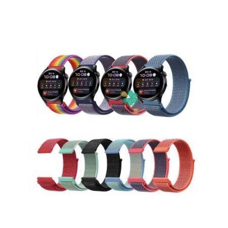 قیمت بند ساعت هواوی واچ Huawei Watch 3 مدل نایلون لوپ