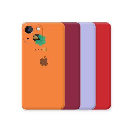 خرید قاب گوشی اپل آیفون Apple iPhone 13 مدل سیلیکونی محافظ لنز دار