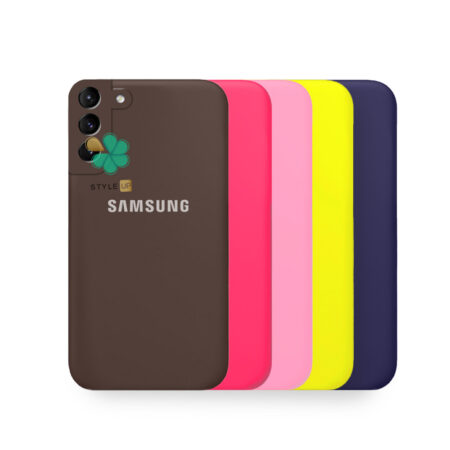 خرید قاب گوشی سامسونگ Samsung Galaxy S21 5G مدل سیلیکونی محافظ لنز دار