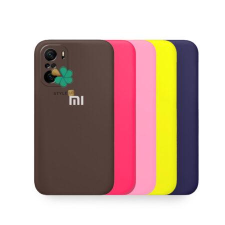 خرید قاب گوشی شیائومی Xiaomi Redmi K40 Pro مدل سیلیکونی محافظ لنز دار