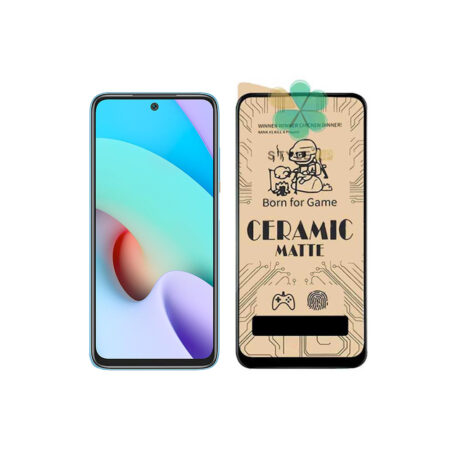 خرید گلس سرامیکی مات گوشی شیائومی Xiaomi Redmi 10 Prime