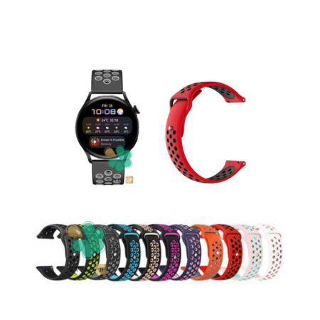 قیمت بند ساعت هواوی واچ Huawei Watch 3 سیلیکونی نایکی