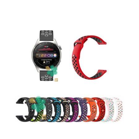 قیمت بند ساعت هواوی واچ Huawei Watch 3 Pro سیلیکونی نایکی