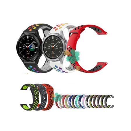 قیمت بند ساعت سامسونگ Samsung Galaxy Watch 4 Classic سیلیکونی نایکی