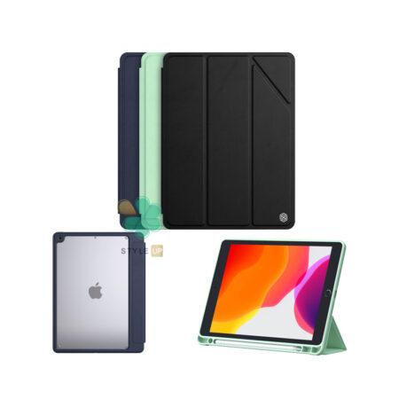 خرید کیف چرمی نیلکین اپل آیپد Apple iPad 10.2 2021 مدل Bevel
