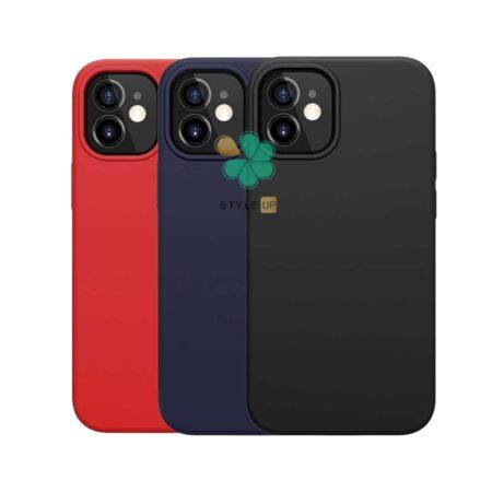قیمت قاب سیلیکونی مگ سیف دار نیلکین گوشی اپل iPhone 12 مدل Flex Pure Pro