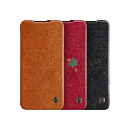خرید کیف چرمی نیلکین گوشی سامسونگ Samsung Galaxy S21 FE 5G مدل Qin