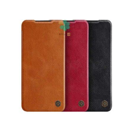 خرید کیف چرمی نیلکین گوشی شیائومی Xiaomi Redmi 10 Prime مدل Qin