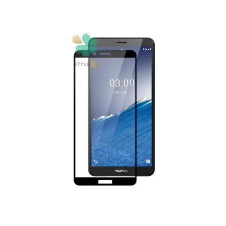 خرید گلس گوشی نوکیا Nokia C3 مدل تمام صفحه