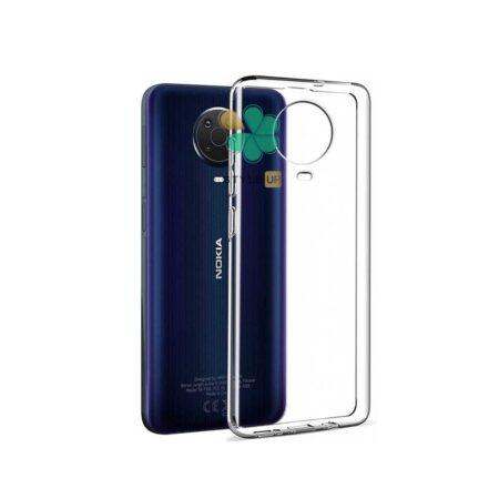 خرید قاب گوشی نوکیا Nokia G20 مدل ژله ای شفاف