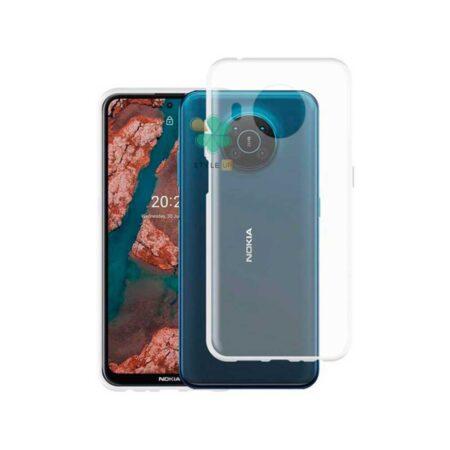 خرید قاب گوشی نوکیا Nokia X20 مدل ژله ای شفاف