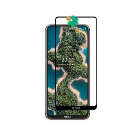 خرید گلس محافظ گوشی نوکیا Nokia X20 مدل تمام صفحه