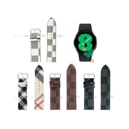 قیمت بند ساعت سامسونگ Samsung Galaxy Watch 4 طرح لویی ویتون