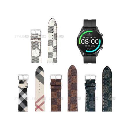 قیمت بند ساعت شیائومی Xiaomi IMILAB W12 طرح لویی ویتون