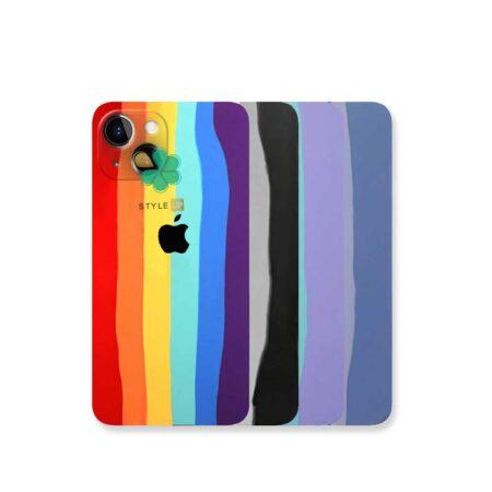قیمت قاب سیلیکونی گوشی اپل آیفون Apple iPhone 13 Mini مدل رنگین کمان