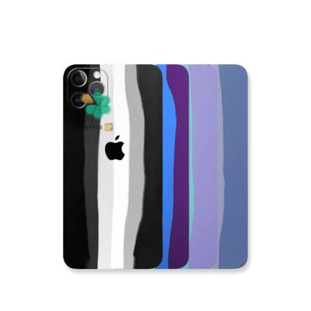 قیمت قاب سیلیکونی گوشی اپل آیفون Apple iPhone 13 Pro مدل رنگین کمان