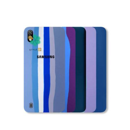 خرید قاب سیلیکونی گوشی سامسونگ Samsung Galaxy A10 مدل رنگین کمان