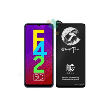 خرید گلس سرامیکی مات گوشی سامسونگ Galaxy F42 5G برند Mietubl
