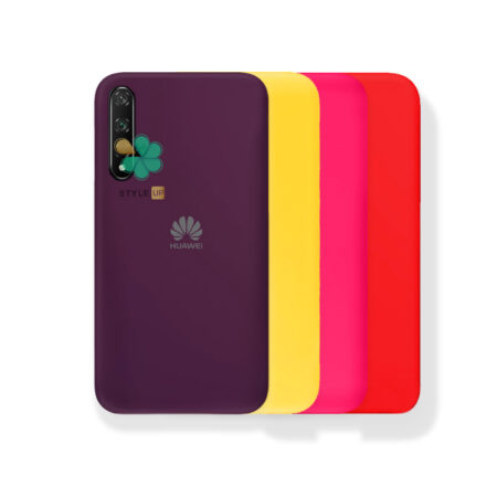 خرید قاب گوشی هواوی Huawei Nova 5T مدل ژله ای رنگی