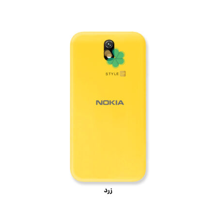 عکس قاب گوشی نوکیا Nokia C1 مدل ژله ای رنگی