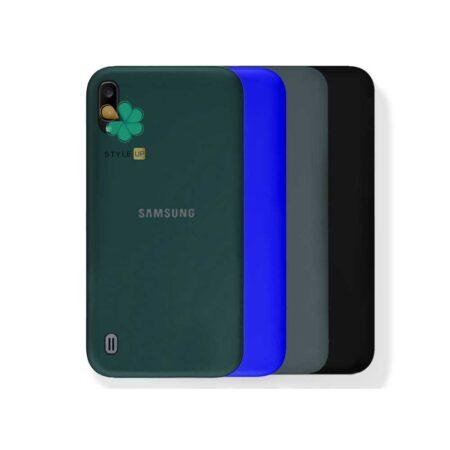 خرید قاب گوشی سامسونگ Samsung A01 مدل ژله ای رنگی