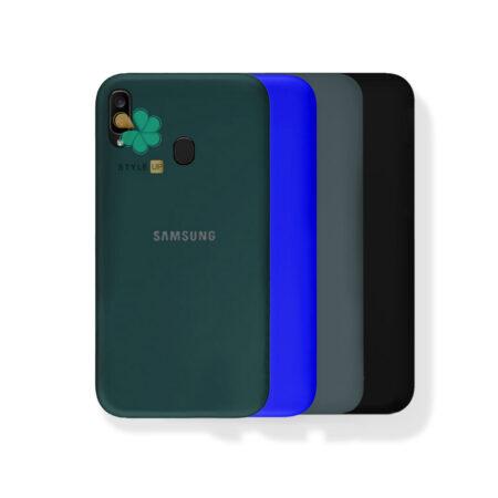 خرید قاب گوشی سامسونگ Samsung Galaxy A20 مدل ژله ای رنگی