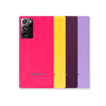 خرید قاب گوشی سامسونگ Samsung Note 20 Ultra مدل ژله ای رنگی