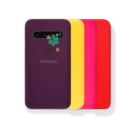 خرید قاب گوشی سامسونگ Samsung S10 Plus مدل ژله ای رنگی