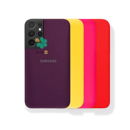 خرید قاب گوشی سامسونگ Galaxy S21 Ultra مدل ژله ای رنگی