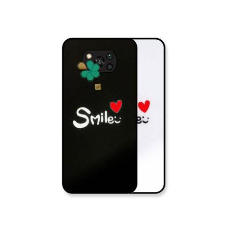 خرید کاور گوشی شیائومی Xiaomi Poco X3 مدل Smile