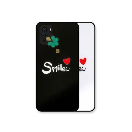 خرید کاور گوشی شیائومی Xiaomi Redmi Note 10 مدل Smile