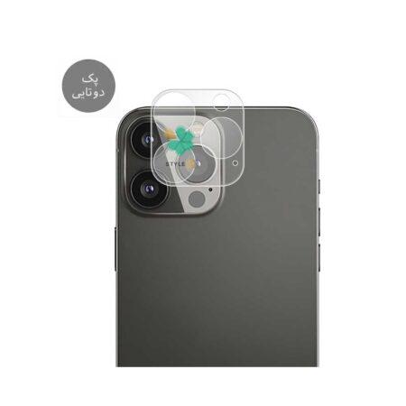 خرید پک دوتایی محافظ لنز نانو سرامیک گوشی اپل iPhone 13 Pro