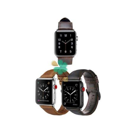 قیمت بند چرمی ساعت اپل واچ Apple Watch 7 45mm مدل Genuine Leather