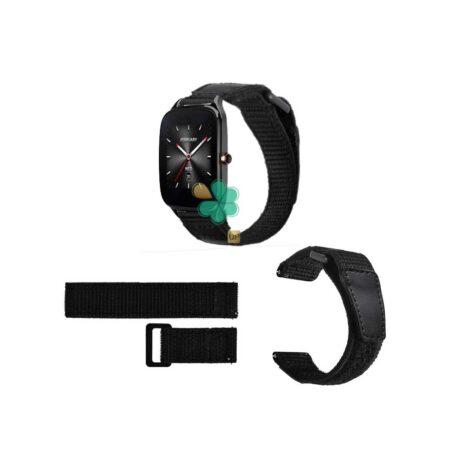 قیمت بند ساعت ایسوس Asus ZenWatch 2 WI501Q مدل نایلون چسبی