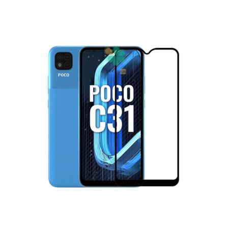 خرید گلس سرامیکی گوشی شیائومی Xiaomi Poco C31 مدل تمام صفحه