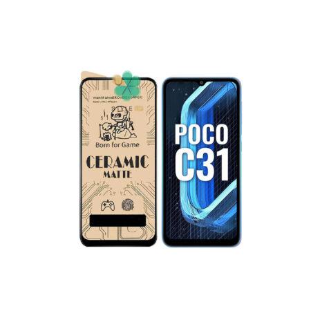 خرید گلس سرامیکی مات گوشی شیائومی Xiaomi Poco C31