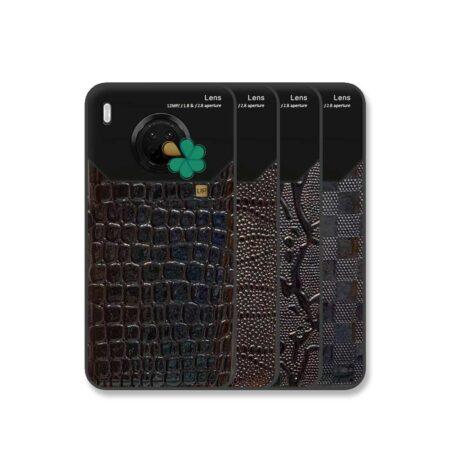 خرید قاب چرم گوشی هواوی Huawei Y9a مدل مونت بلنک محافظ لنز دار