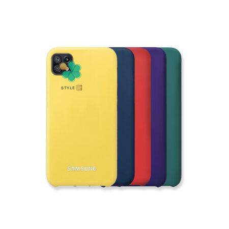 خرید قاب گوشی سامسونگ Samsung Galaxy F42 5G مدل سیلیکونی