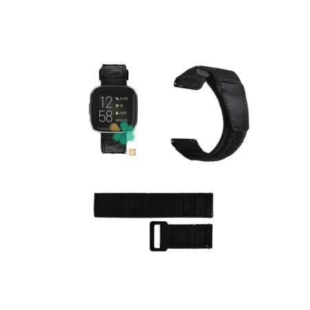 قیمت بند ساعت فیت بیت ورسا Fitbit Versa مدل نایلون چسبی