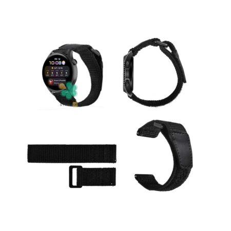 قیمت بند ساعت هواوی واچ Huawei Watch 3 مدل نایلون چسبی