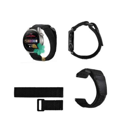 قیمت بند ساعت هواوی واچ Huawei Watch 3 Pro مدل نایلون چسبی