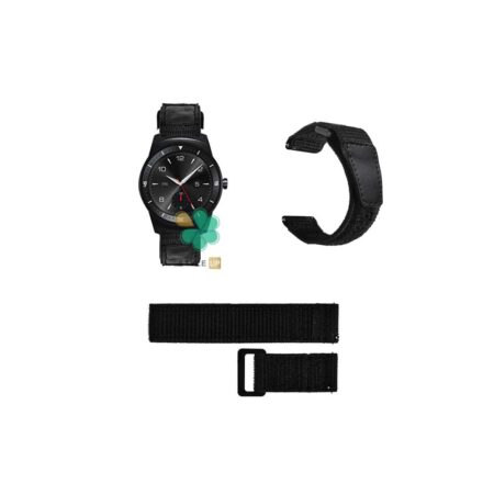 قیمت بند ساعت ال جی LG G Watch R W110 مدل نایلون چسبی