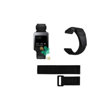 قیمت بند ساعت ال جی LG G Watch W100 مدل نایلون چسبی
