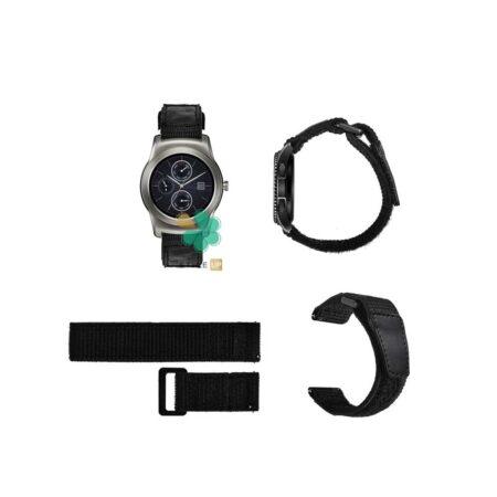 قیمت بند ساعت ال جی LG Watch Urban Luxe مدل نایلون چسبی